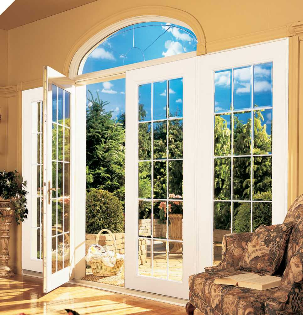 Windows door homerite windows maryland replacement for Patio doors with side windows